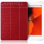 Чехол Verus Crocodile Leather Case Red для iPad Air (пленка в комплекте) фото