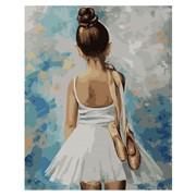 "Картина по номерам ""Маленькая балерина"" размер 40x50 (арт. MG2054) фото"