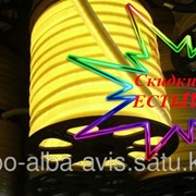 Гибкий неон, Flex Neon флекс неон, холодный неон, неоновый шнур. Цвет: желтый N-005 фото