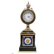 Часы настольные сувенирные, серебро Ag 925° пробы фото