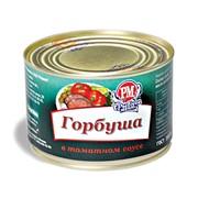 Горбуша в томатном соусе, банка №5 фото