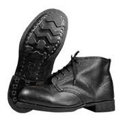 Ботинки юфть-кирзовые фото