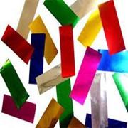 Метафан асорти металлизированный разноцветный фото