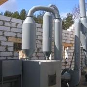 Линия для производства топливных брикетов:- печь с сушкой;- пресс-экструдер;- дробилка молотковая. фото