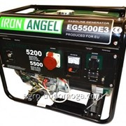 Генератор Iron Angel EG 5500 E3 бензин артикул 2001024 фото