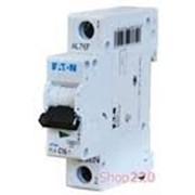 Автоматический выключатель 20 А, уставка C, 1 полюс, PL4-C20/1 Moeller PL4 фото