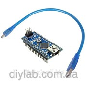 Arduino Nano V3.0 ATmega328 FT232 + USB Cable фото
