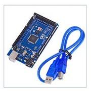 Плата Arduino Mega 2560 ATmega2560-16AU + USB Cable фото