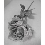 Ветка блеск роза 1 голов 70см фото