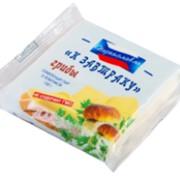Плавленый cыр тост К завтраку со вкусом грибов фото