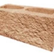 Декоративный блок коричневый фото