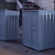 Контейнеры для мусора с крышкой, без крышки фото