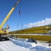 Монтаж (демонтаж) и ремонт кранов мостовых, козловых, консольных, кран - балок фото