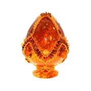 Яйцо пасхальное из янтаря 0760-aw фото