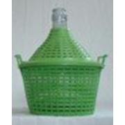 Бутыль-демиджон с пластиковой крышкой, 10 литров фото