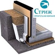 Отвод воды от фундамента (дренаж вокруг дома)  фото