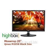"""Монитор 20"""" Qmax M205B Black 5ms фото"""
