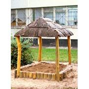 Детские площадки деревянные фото