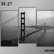 Картина модульная М-27, размер 60х90 фото