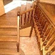 Деревянные лестницы и марши фото