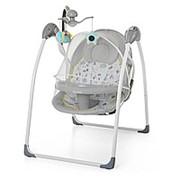 Электрокачели-стульчик для кормления с москитной сеткой: пульт, музыка Marbel фото
