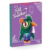 Krooom Игрушка из картона: Fold my Treecher - Сова Оливия k-482 фото