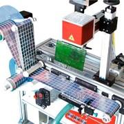 Лазерный маркер для автоматической маркировки наклеек фото