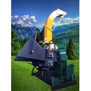 Рубильная машина МРЭТГ30 комбинированая измельчения сучьев и веток фото