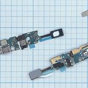 Разъем Micro USB для Samsung N920C (плата с системным разъемом, аудио разъемом, микрофоном, HOME и ш фото