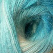 Пряжа Rainbow Angora - Бирюза фото