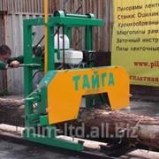 Ленточная пилорама Тайга Т-1Б фото