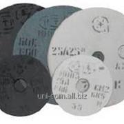 Круг шлифовальный 25А былый\серый 300х40х127 электрокорунд фото