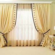Индивидуальны пошив штор, гардин, ламбрекенов фото