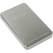 Корпус для HDD 2.5 SATA Orient 2568U3 USB 3.0 контейнер ASM1153E, алюминий, серебристый-металл фото