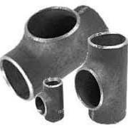 Тройник стальной под приварку Ду219х108 (219х6-108х6) фото