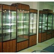 Торговые витрины из стекла фото