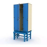 Шкаф 3-1 на подставке с выдвижной скамьей фото