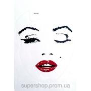 Виниловая наклейка для ноутбука Монро 183-1781940 фото