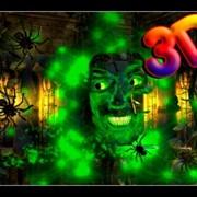 3Д стерео фильмы Halloween Castle фото