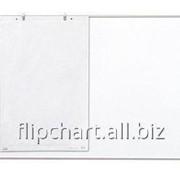 Доска маркерная-меловая магнитная TRYPTYK размер: 100х150/300 см E-line 2x3 (Польша) TRS1510B/K/E фото