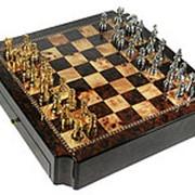 "Игра настольная ""Шахматы"" 42*42см фото"