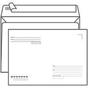 Конверт C5 Ряжская печатная фабрика 162*229 мм, с подсказом, б/окна, отр. лента фото