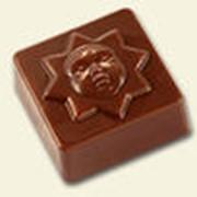 Конфеты весовые шоколадные «Лунная мелодия» Шоколадно-ореховый крем фото