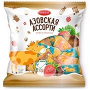 Конфеты Азовская коровка Ассорти 4 кг в коробке фото