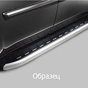 Пороги Chevrolet TrailBlazer 2012-2015 (алюминиевые Alyans) фото