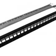 Патч-панель Pleolan 19'' 1U 24 порта STP, модульная фото