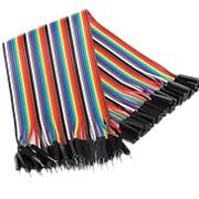 Провода для макетных плат (папа-мама), 40 см фото