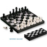 Шахматы пластик фото