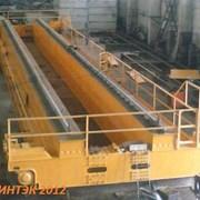 Мостовой грейферный кран (изготовление, монтаж) фото