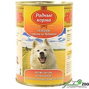 Корм для собак Родные Корма 970гр теленок с рисом фото